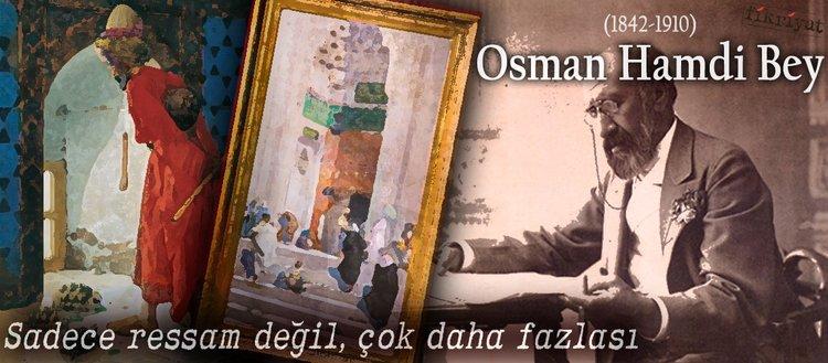 Yakın markaj Osman Hamdi Bey