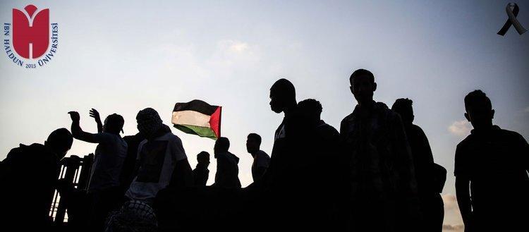 İsrail'e lanet Filistin'e destek çağrısı