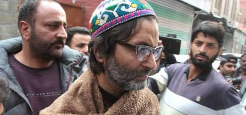DETAINED KASHMIRI LEADER 'HOSPITALIZED' IN NEW DELHI