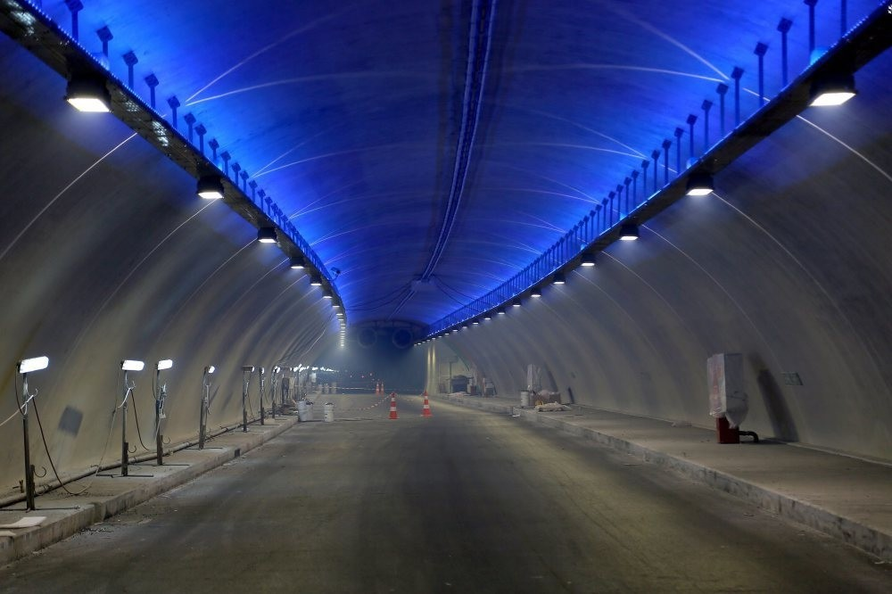 The Eurasia Tunnel which will connect European and Asian sides of Istanbul will start operating on Dec. 20.