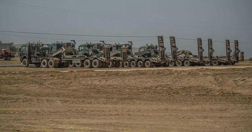 Tanklar sınırda bekliyor