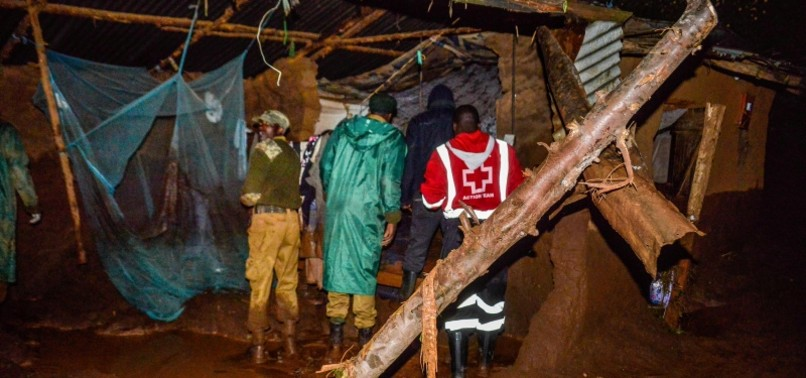 AT LEAST 20 KILLED AFTER DAM BURSTS IN KENYAS RIFT VALLEY