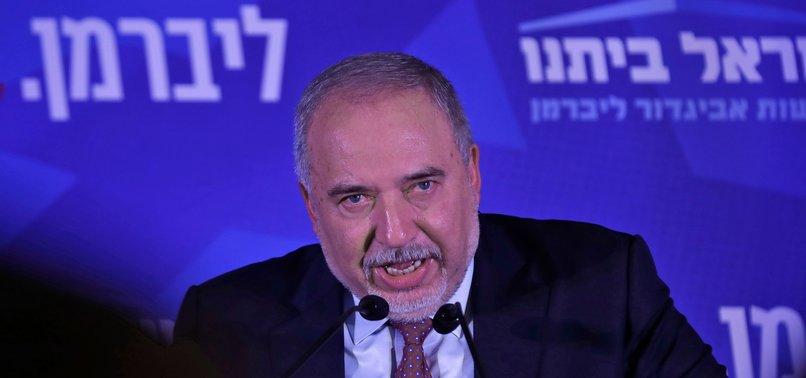 POSSIBLE ISRAELI KINGMAKER LIEBERMAN SAYS NOT BACKING NETANYAHU OR GANTZ TO BE NEXT PRIME MINISTER