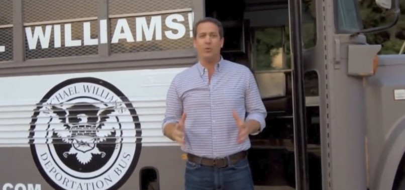 YOUTUBE REMOVES GEORGIA GOP CANDIDATES DEPORTATION BUS AD OVER HATE SPEECH