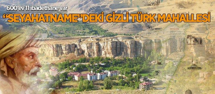 Seyahatnamedeki gizli Türk mahallesi