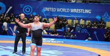 Rıza Kayaalp strikes gold in World Wrestling Championships
