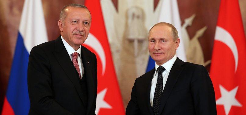 ERDOĞAN AND PUTIN AGREE TO CONVENE WORKING GROUP ON SYRIA SOON