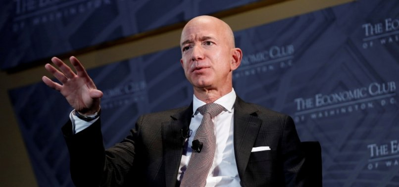 JEFF BEZOS TOPS FORBES BILLIONAIRES LIST