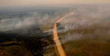 Brazil declares emergency as fires burn in world's largest wetland