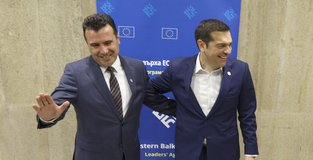 Greece, Macedonia sign deal to end yearslong name dispute