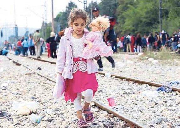 Çocuk mülteci sayısı rekor kırdı