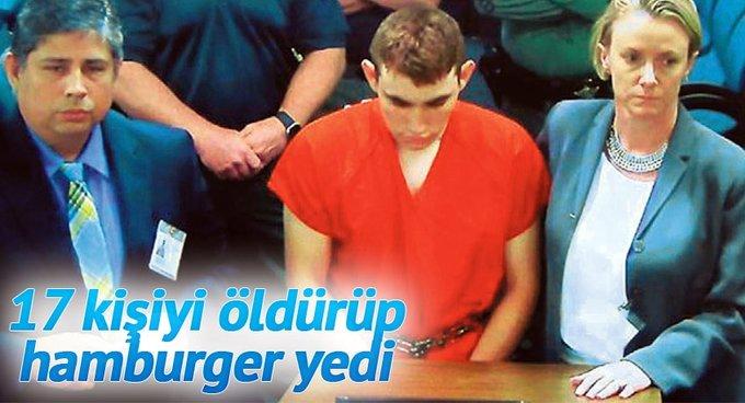 17 kişiyi öldürüp hamburger yedi