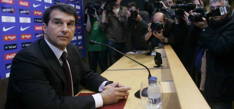 LAPORTA PUTS MESSI AT HEART OF BARCELONA PRESIDENCY BID