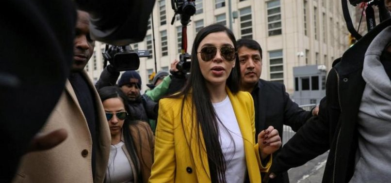 WIFE OF DRUG KINGPIN EL CHAPO PLEADS GUILTY IN U.S. FEDERAL COURT