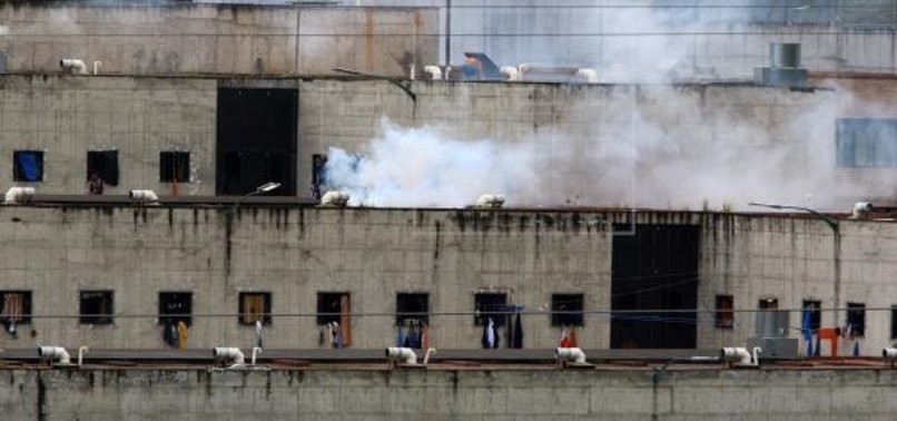AT LEAST 21 DEAD DURING RIOTS AT TWO PRISONS IN ECUADOR