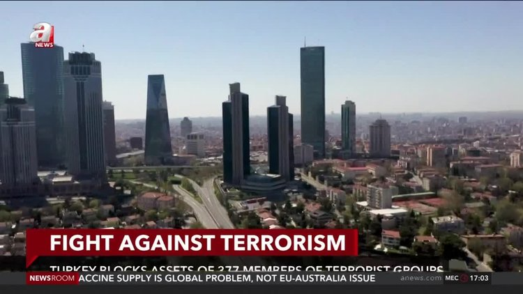 Turkey blocks assets of 377 members of terrorist groups