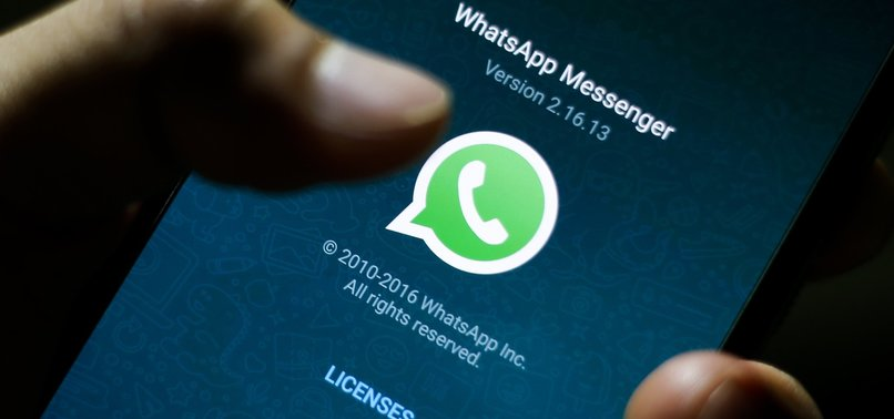 WHATSAPP BRIEFLY SUFFERS GLOBAL OUTAGE ON NEW YEAR'S EVE