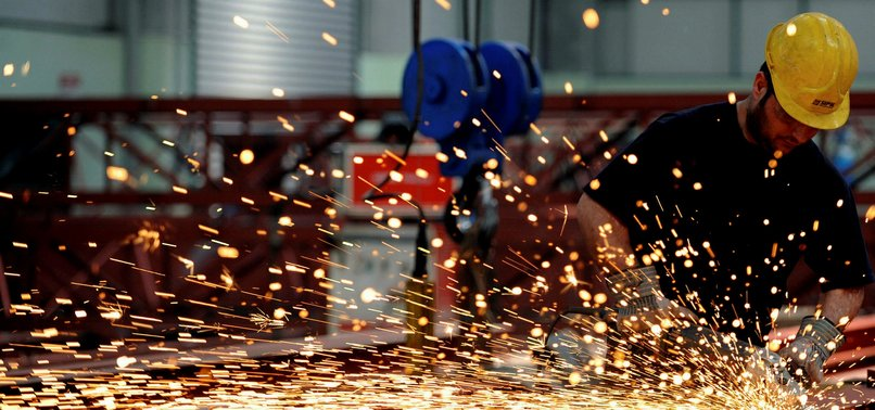TURKEYS INDUSTRIAL OUTPUT RISES IN FEBRUARY