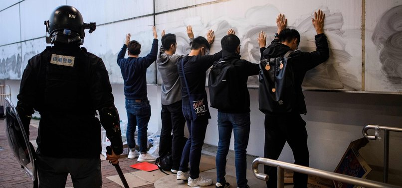 CHINA MEDIA, HK GOVT BRISTLE AT TRUMPS PLEDGE OF CURBS, SANCTIONS