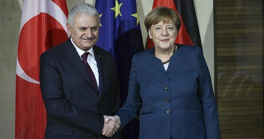 Başbakan Yıldırım ile Almanya Başbakanı Merkel görüşecek
