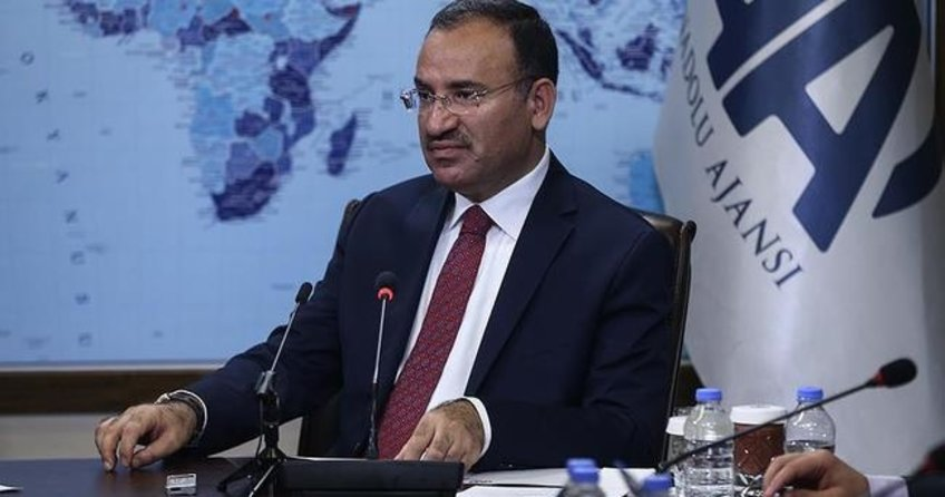 Adalet Bakanı Bekir Bozdağ AA Editör Masası'nda konuşuyor