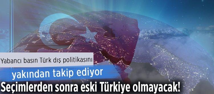Türkiye, şerefli bir dış politika yürütüyor