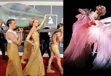 Lady Gaganın meşhur Grammy kıyafetleri