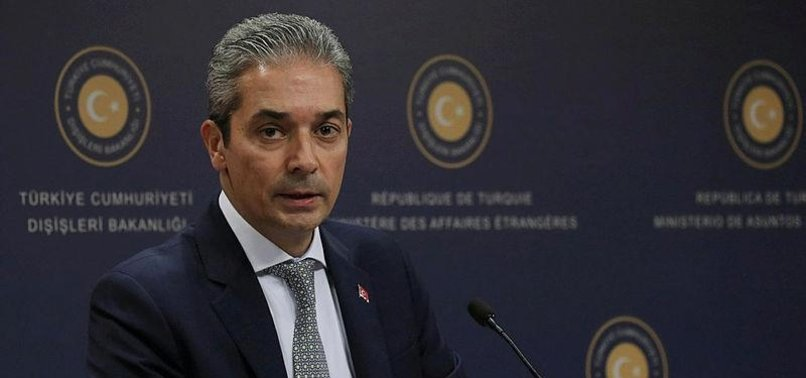 TURKEY RESPONDS TO GREECES CLAIMS ON FLIGHT CLEARANCE