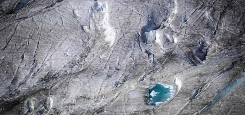 GLACIER MELTING HITS RECORD LEVELS IN SWITZERLAND