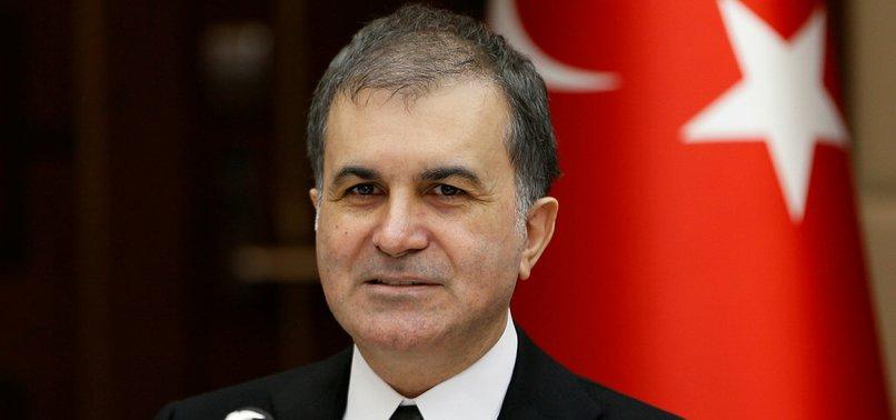 TURKEY SET TO SUBMIT EU VISA LIBERALIZATION DOCUMENTS, MINISTER SAYS