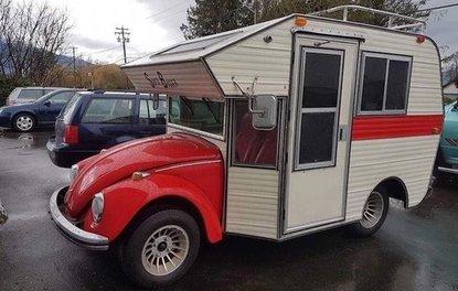 Tosbağa'dan karavan olursa