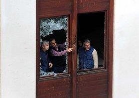 AK Parti İl Başkanlığı'nın saldırıdan sonra ki hali!