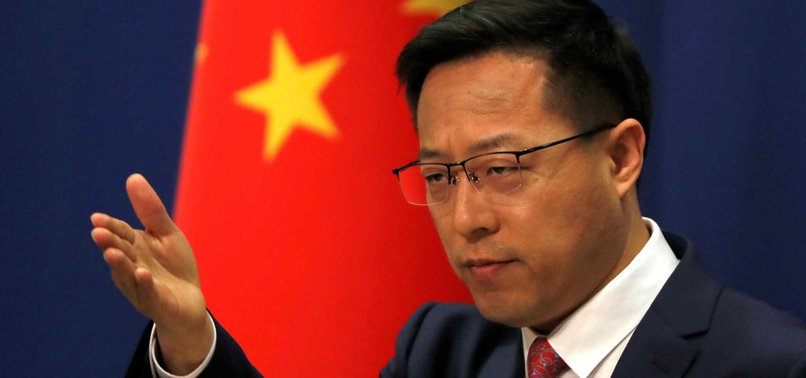 CHINA TELLS G7 TO STOP INTERFERING IN HONG KONG AFFAIRS