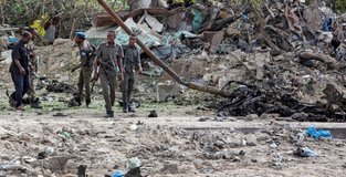 Bomb blasts kill 5 civilians and 1 police officer in Somalia