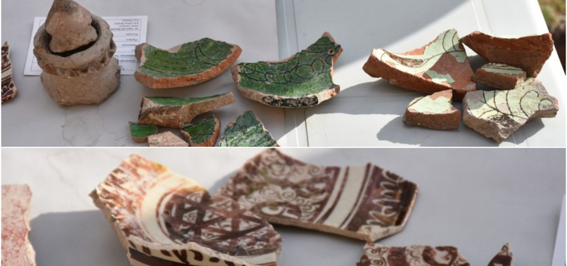 MEDIEVAL, SELJUK-ERA CERAMICS UNEARTHED IN ANCIENT GHOST CITY OF ANI ON TURKISH-ARMENIAN BORDER