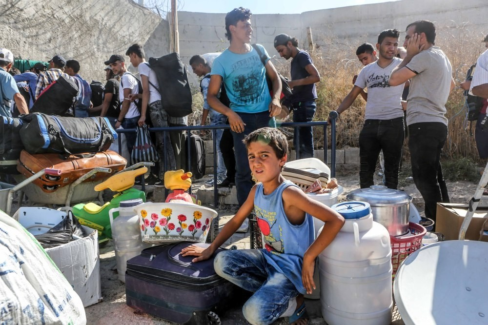 Residents from Syrian town of Jarablus prepare to return to their town after FSA liberated it from DAESH.