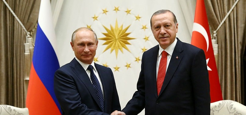 PUTIN HAILS NORMALIZATION OF RELATIONS, COOPERATION IN NEW YEARS GREETINGS TO ERDOĞAN