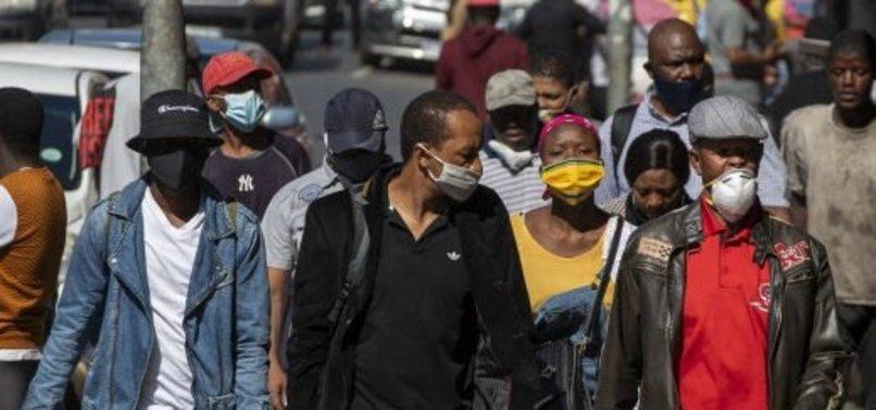 SOUTH AFRICA REPORTS 14,880 NEW CORONAVIRUS CASES