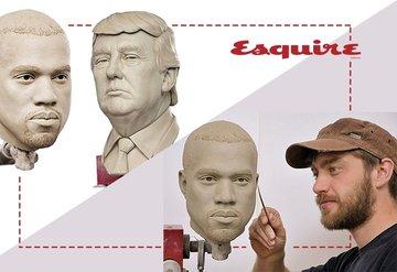 Madame Tussauds'da Kanye West heykeli hazırlığı