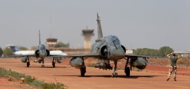 FRENCH MILITARY PLANE CRASHES IN MALI