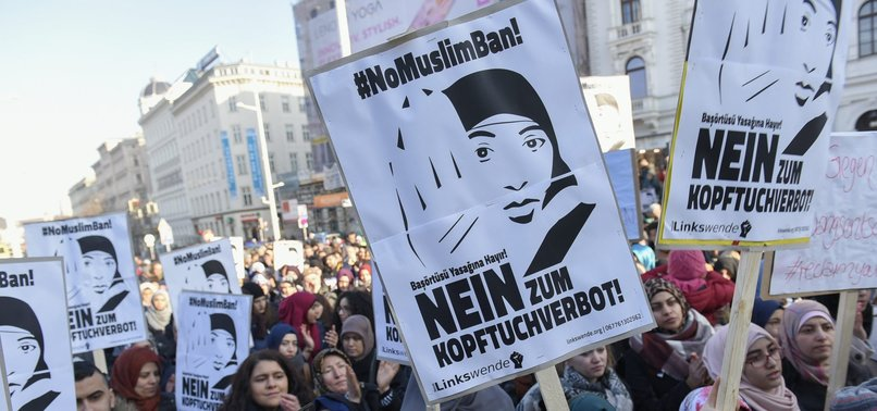 AUSTRIANS REACT TO GOVERNMENT'S HEADSCARF PLAN