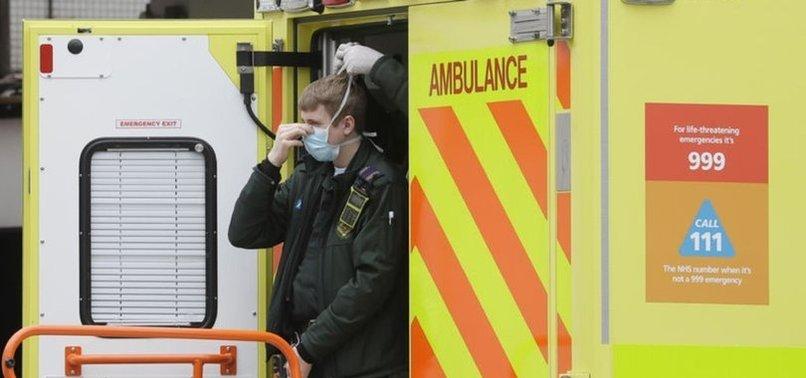 UK: CORONAVIRUS DEATH TOLL SURPASSES 43,500