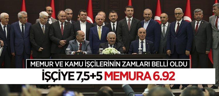 2017-2018 kamu toplu iş sözleşmesi imzalandı