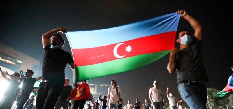 AZERBAIJANIS CALL FOR MOBILIZATION AGAINST ARMENIA