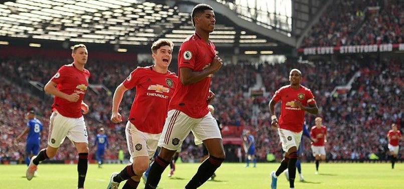 MANCHESTER UNITED GO FOURTH AS RASHFORD PENALTY BEATS LEICESTER