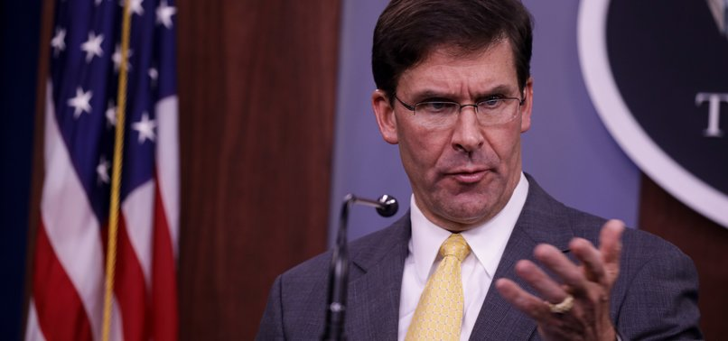 PENTAGON CHIEF SAYS TALKS STILL ONGOING TO END AFGHAN WAR