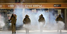Russia reports lowest daily rise in coronavirus cases since late April