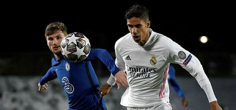 REAL DEFENDER VARANE RULED OUT OF CHELSEA GAME