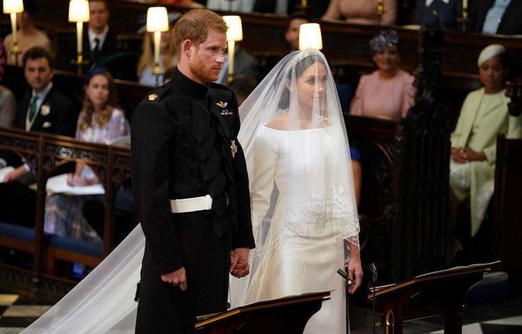 Tüm dünyanın merakla takip ettiği  Prens Harry-Meghan Markle düğünü gerçekleşti. İşte yılın düğününden kareler.