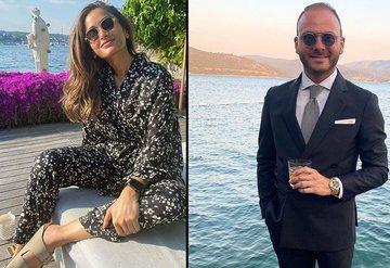 Murat Gezer ve Nazlı Çarmıklı nişanlandı
